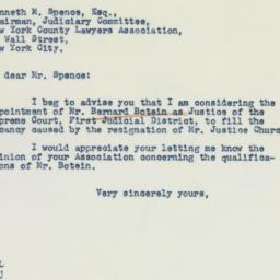 Letter: 1941 November 14