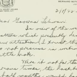 Letter: 1942 February 8