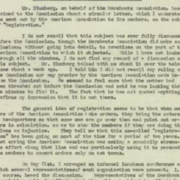 Letter: 1925 December 14