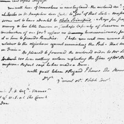 Document, 1786 October 04