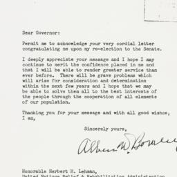 Letter: 1944 November 21