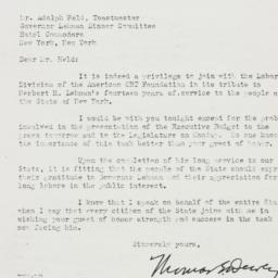 Letter: 1943 January 29