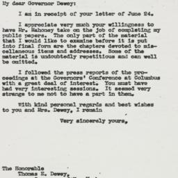 Letter: 1943 June 29