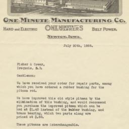 One Minute Manufacturing Co...