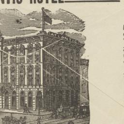 Atlantic Hotel. Envelope