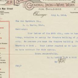 E. R. Landon Iron & Wire Wo...