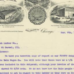 Kelley, Maus & Co.. Letter
