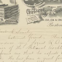 G.S. Guyer & Co.. Letter
