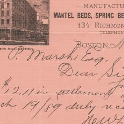 Hermon W. Ladd Company. Letter