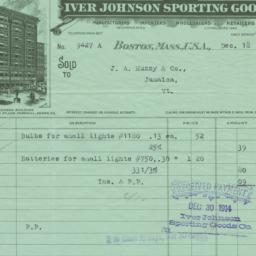Iver Johnson Sporting Goods...