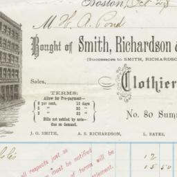 Smith, Richardson & Bates. ...