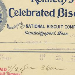 Kennedy's Celebrated Biscui...
