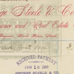George Steele & Co.. Bill