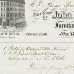 John D. Chollar & Co.. Bill