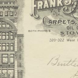 Frank J. Murphy. Envelope