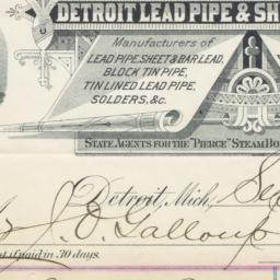 Detroit Lead Pipe & Sheet L...
