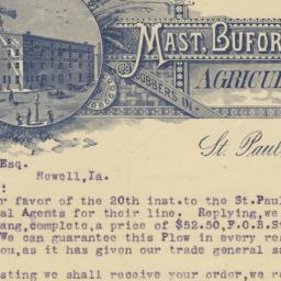 Mast, Buford & Burwell Co.....