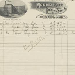 Mound City Boot and Shoe Co...