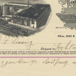 Saint Louis Oil Co. Bill