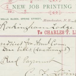 C. F. Livingston's Job Prin...