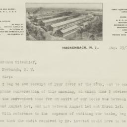 Gregg Company, Ltd.. Letter
