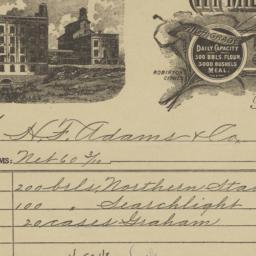 City Mills Company. Bill