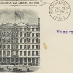 Mersereau Mfg. Co.. Envelope