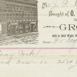 O. D. Goodrich & Co.. Bill