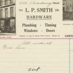 L. P. Smith. Bill
