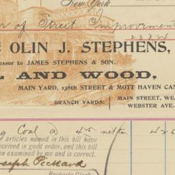 Olin J. Stephens. Bill