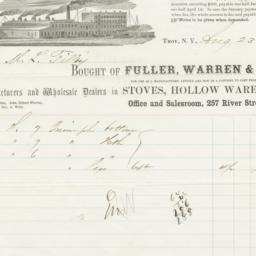 Fuller, Warren & Co.. Bill