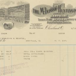 McIntosh Huntington Co.. Bill