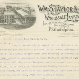 Wm. S. Taylor & Co.. Letter
