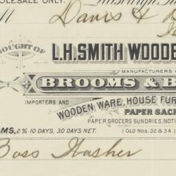 L. H. Smith Wooden Ware & C...