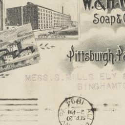 W. & H. Walker. Envelope