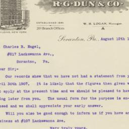 R.G. Dun & Co.. Letter