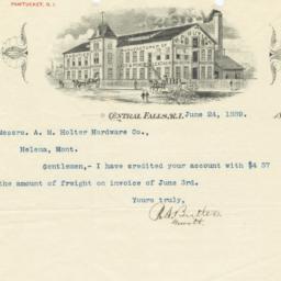 R. A. Butler. Letter