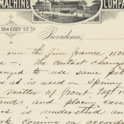 Providence Machine Company....