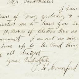 Tuttle & Company. Letter
