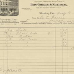 John S. Naylor Co.. Bill