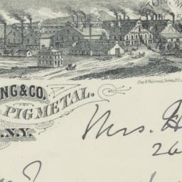 J. W. Dunning & Co.. Envelope