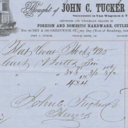 John C. Tucker & Co.. Bill