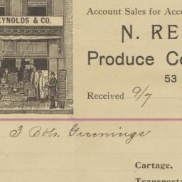 N. Reynolds & Co.. Bill