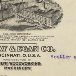 J.A. Fay & Egan Co.. Envelope