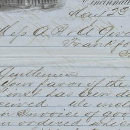 Kuhn Netter & Co.. Letter
