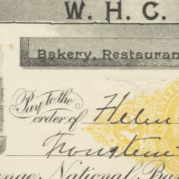 W. H. C. Riley. Check