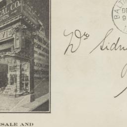 Leon Levi, Jeweler. Envelope