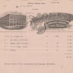 Plunkett-Jarrell Grocer Co....