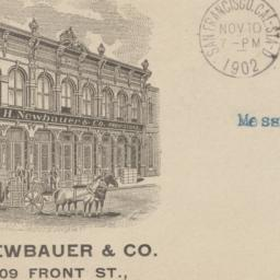 J. H. Newbauer & Co.. Envelope