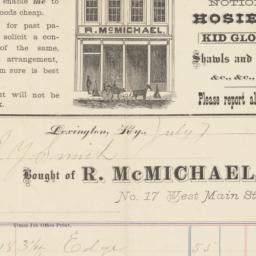 R. McMichael. Bill